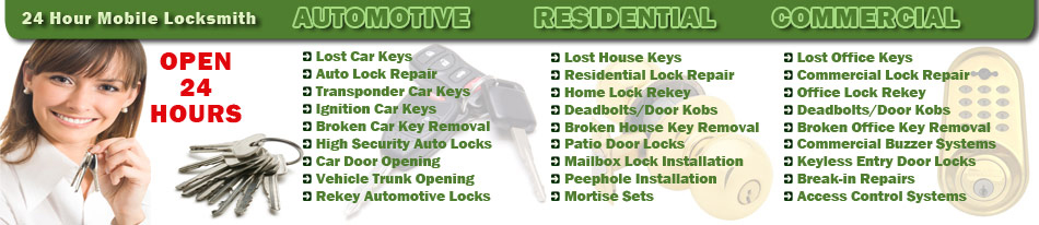 Tx Mobile Locksmith Service Spring